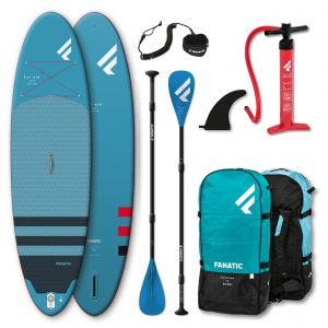 Fanatic Package Fly Air Sup / Pure Paddel/ Pumpe/ Bag/ Leash 2021