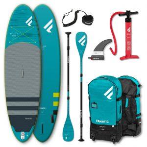 Fanatic Package Fly Air Premium Sup/C35 Paddel/ Pumpe/ Bag/ Leash 2021