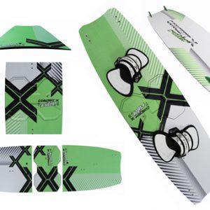 Concept X Split Kiteboard