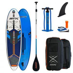 STX SUP Freeride SUP Set inkl Bag Pumpe Alu Paddel 21
