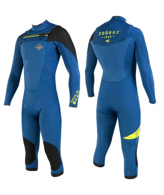 Soöruz Cut Wetsuit 3/2 FIGHTER Front-Zip Long Sleeves 2020