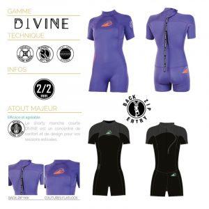 Soöruz Divine Shorty Back-zip Damenneoprenanzug (2/2)